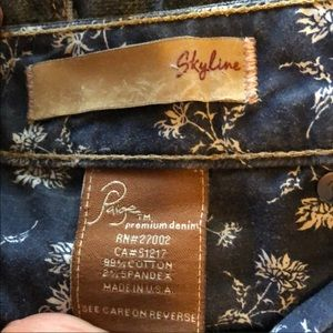 PAIGE Jeans - Paige Skyline Distressed Jeans